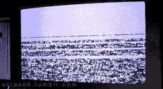 A hacker girl intrudes the television broadcast. Nirvana (1997) - Cyberpunk Movies & Neon Lights