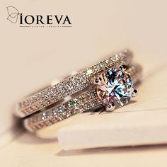 rings set for women engagement ring wedding band cz diamond jewelry zirconia anillos mujer casamento anel feminino