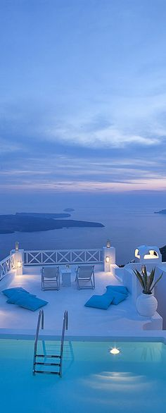#Sunset in Santorini, #Greece