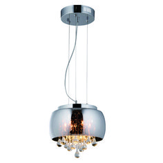 LED pendant light that is adjustable. With a dark gray and smoke glass shade and a chrome base. Ideal for any living room and home use. Chandelier Pendant Lights, Pendant Lighting, Light, Smart Bulbs, Pendant Light, Lighting Store, Modern Pendant Light, Strip Lighting, Ceiling Lights