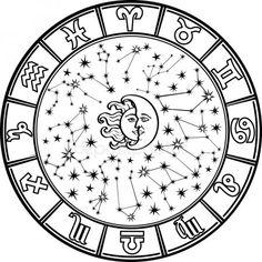 Zodiac Symbols, Zodiac Art, Astrology Zodiac, Horoscope, Zodiac Signs, Aries, Pisces Sign, Aquarius Constellation Tattoo, Zodiac Wheel