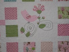 Baby Quilt closeup from the Quilting Board