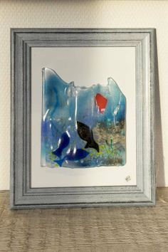 Fused glass - Relief