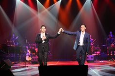 George Perris and Marion Frangoulis in concert.  Turkey 2014