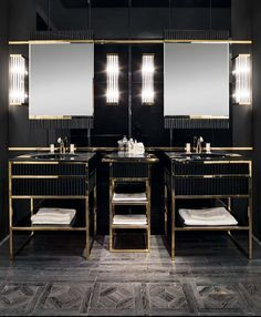 Find more interior design luxurious and modern gold inspirations at http://www.maisonvalentina.net/