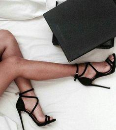 Imagem de shoes, fashion, and black
