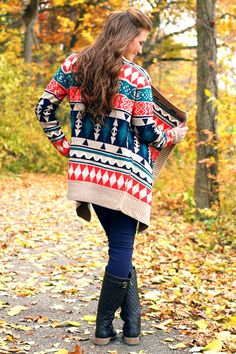 Into the Woods Cardi