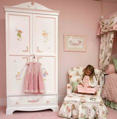 Little girl's bedroom by Dragons of Walton Street