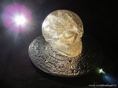 crystal skull light healing