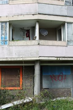 This is the apartment she lives in, but has lived there all her life and would feel strange if she was not there- safety
