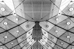 Pierre L'Excellent | Défense-toi - Arche de la Défense. Architectes : Johann Otto von Spreckelsen, Paul Andreu et Peter Rice