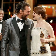 Matthew McConaughey and Julianne Moore, winner of Best Actress for 'Still Alice' attend the Annual Academy Awards at Dolby Theatre on February 2015 in Hollywood, California. Oscar Best Picture, Best Picture Winners, Best Actress Award, Best Actor, Julianne Moore, Academy Award Winners, Academy Awards, Matthew Mcconaughey, Reese Witherspoon