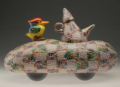 RICHARD MARQUIS | Glass Scultpure by Dick Marquis at Schantz Galleries