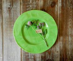 Scandi Home :: Talerz obiadowy duży od Rice- zielony leśny Rice