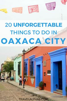 Taking a trip to Oaxaca City, Mexico soon? From mezcal tastings and street food, to museums and ancient ruins, here are the 20 best things to do in Oaxaca City, Mexico! | Oaxaca, Mexico | Mitla | Oaxaca Travel Guide | Oaxaca City | Mexico Travel | Oaxaca Comida | Oaxaca Food | Restaurants in Oaxaca | Things to Do in Oaxaca City | What to Do in Oaxaca City | Best Activities in Oaxaca | Oaxaca Artesanias | Oaxaca Turismo | Hierve el Agua | Shopping in Oaxaca | Guide to Oaxaca | Oaxaca…