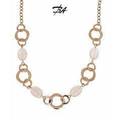 Collar montado en bronce rosa con cuarzos rosas irregulares, de 90 cm de largo.  VENTA ONLINE http://www.bienvenidoasensijoyeros.com/es/colgantes-y-collares/1180-collar-de-bronzallure-con-cuarzos-rosas.html