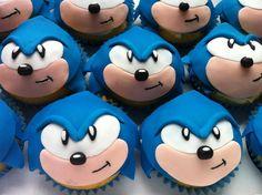 sonic cupcakes @ Jocie!!