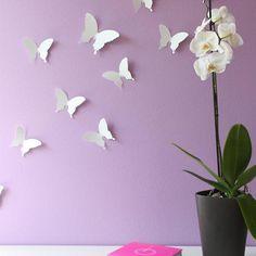 Wandtattoo Schmetterling 3D Für Kinderzimmer