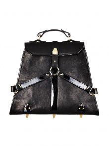 Leather Tote / Shoulder Bag   NOT JUST A LABEL