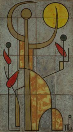 Έργα Τέχνης | Teloglion Foundation of Art A.U.Th. Foundation, Cross Stitch, Greek, Painting, Artists, Drop Cloths, Greek Art, Punto De Cruz, Seed Stitch
