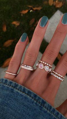 14kt gold and diamond mini organic moonstone band