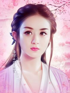 Beauty Art, Beauty Women, The Journey Of Flower, Princess Agents, Zhao Li Ying, Chinese Drawings, Beautiful Fantasy Art, Ancient Beauty, Painting Of Girl