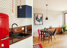 Wyobraźnia kontra codzienność. Warszawska pracownia Qbik Design to wnętrza z nutką vintage i nowoczesności.