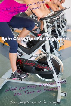 Spin Class Tips for Beginners