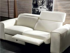 I like this modern chic sofa bed! Natuzzi makes beautiful couches and furniture. Natuzzi Sofas CLYDE - 2497