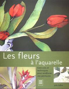 les fleurs à l'aquarelle