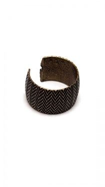 Wooden bangles are a must have!