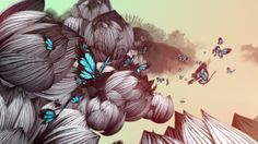 Seasons by Erica Haowei Hu. Seasons is a surreal motion graphics animation based on the changing seasons. Beginning with spring, the richly hued illustrations in this work come alive as they transform in color and rhythmic tempo to reveal the full seasonal spectrum.