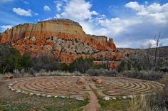 Ghost Ranch Labyrinth | James Matuszak | Flickr