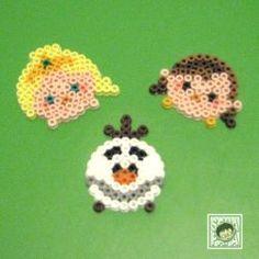 Tsum Tsum Perler Beads Frozen