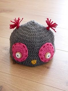 no tutorial or pattern, but could be easy to replicate...seriously cute!