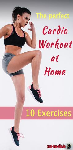 Cardio Workout at home - do 10 exercises #cardio #cardioathome #cardioworkout