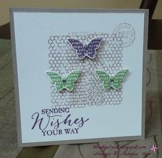 Windy's Wonderful Creations: More Butterflies!