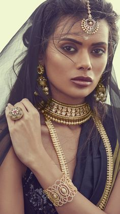 Bringing sexy back! @mayillondon 's latest bridal collection is fashion focused yet traditional. • Makeup: @ginibhogal Hair: Mukhtar Rehman