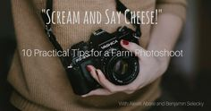 """Having a photoshoot at your venue can be a great way to generate extra revenue AND the picture they take home with them can be a great marketing tool. For this week's blog post we are featuring an article titled, """"Scream and Say Cheese!"""" by Alexis Abare and Benjamin Selecky of Haunted Farms of America. Abare and Selecky put together a great list of things to consider for a Haunted Farm Photoshoot; however, most of these tips will apply to any farm photoshoot!"""