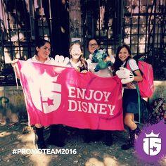 Estuvimos en el Santísimo Rosario visitando a las futuras pasajeras de la tierra mágica!! #Disney #WaltDisneyWorld #PromoTeam2016