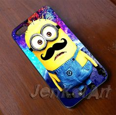 Hey, I found this really awesome Etsy listing at https://www.etsy.com/listing/181296755/minion-galaxy-mustache-rubber-and