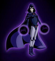 Raven (Teen Titans) by MrKirboy.deviantart.com on @DeviantArt