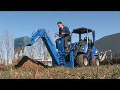 Pelle rétro avec MultiOne Tractors, Vehicles, Public, Youtube, Civil Engineering, Interview, Rolling Stock, Vehicle, Tools