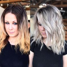 Split Down the Middle - 20 Fresh Teal Hair Color Ideas for Blondes and Brunettes - The Trending Hairstyle Teal Hair Color, Great Hair, Hair Highlights, Hair Today, Balayage Hair, Bayalage, Hair Dos, Gorgeous Hair, Pretty Hairstyles