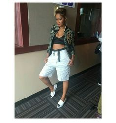 Ms Keke Palmer...Sporty Girl Gang!!!
