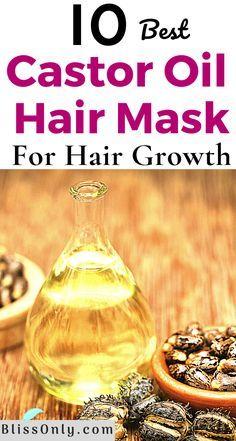 Castor Oil For Hair Growth, Hair Growth Oil, Essential Oils For Hair, Diy Hair Care, Healthy Hair Growth, Strong Hair, Hair Health, Hair Oil, Natural Hair Styles