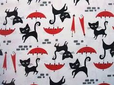 Image result for cat fabric by the yard