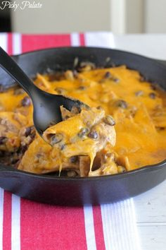 Chicken Black Bean Taco Bake from @Jenny Flake, Picky Palate