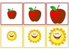 Sorting by size worksheets Preschool Puzzles, Body Preschool, Preschool Centers, Preschool Worksheets, Preschool Crafts, Toddler Learning, Preschool Learning, Kindergarten Math, Apple Activities