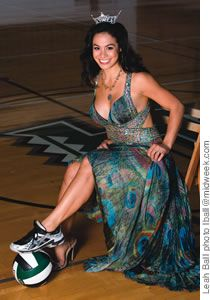 Miss Hawaii - Raeceen Woolford (Volleyball 2004-07)